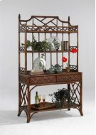 Chippendale Hutch Top Product Image