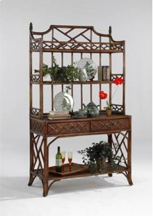Chippendale Hutch Top