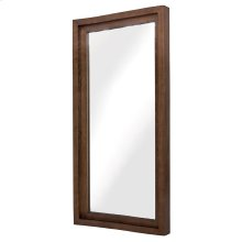 Glam Wall Mirror  Walnut