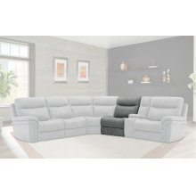 Mason Charcoal Manual Armless Recliner