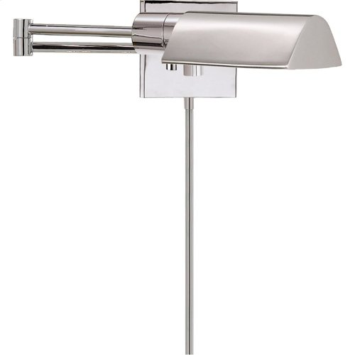 Visual Comfort 92025PN Studio 25 inch 60 watt Polished Nickel Swing-Arm Wall Light