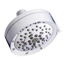 "Chrome 4 1/2"" Five - Function Showerhead"