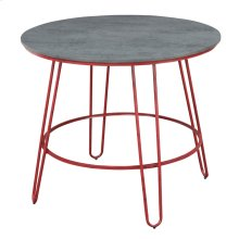 42'' Round Pub Table-red