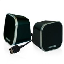 Portable Mini-Cube Stereo Speakers