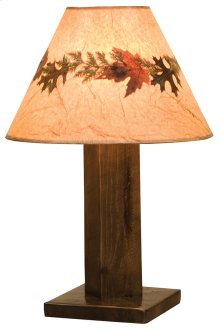 Table Lamp With Lamp Shade, Barn Brown