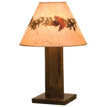 Table Lamp - Barn Brown - With shade