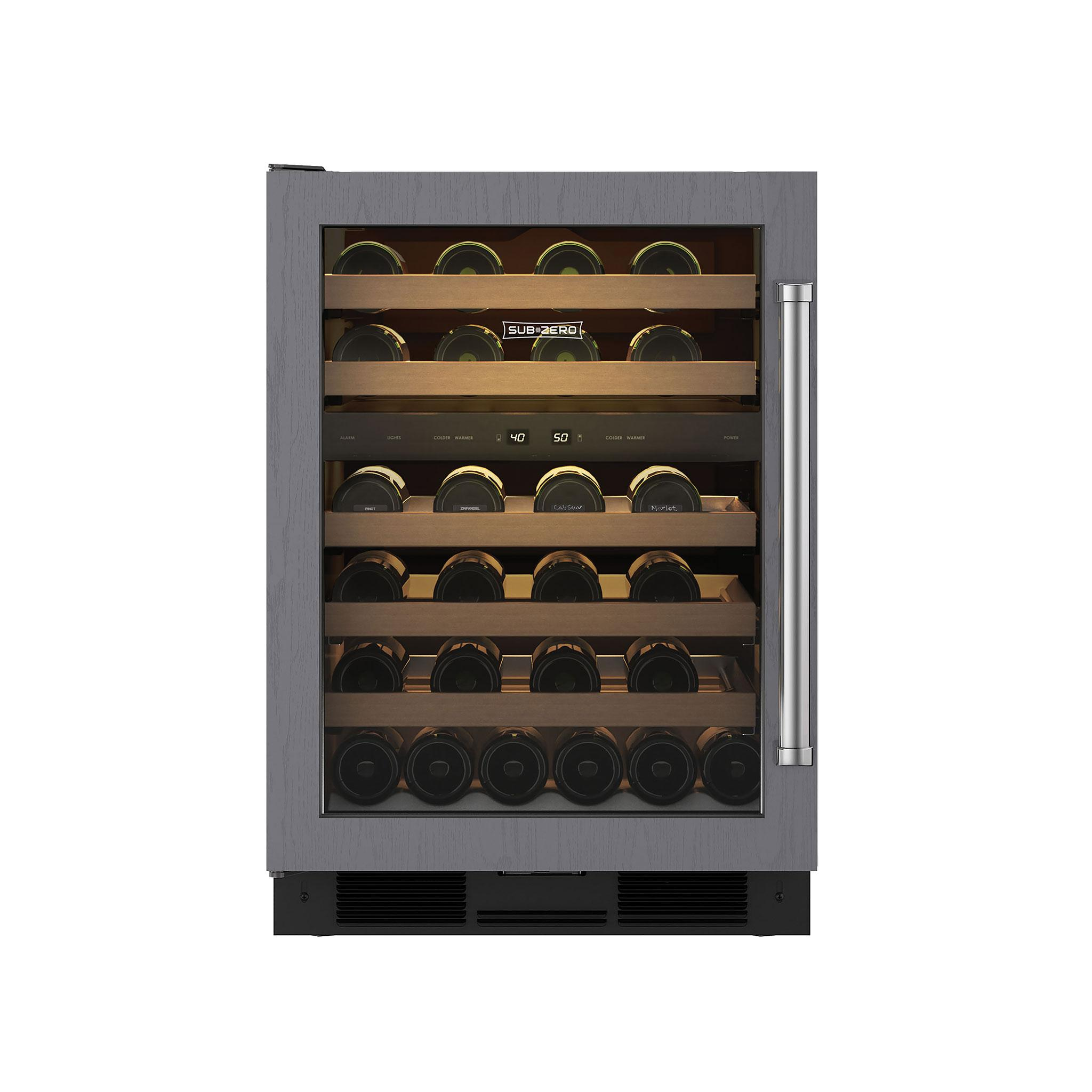 cabinet wine dualzone professional danby cellar sonoma refrigerated silhouette