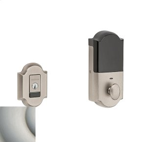 Satin Nickel Evolved Arched Deadbolt