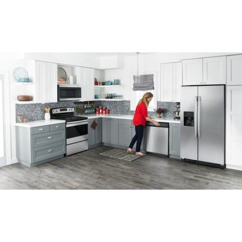 1.6 Cu. Ft. Over-the-Range Microwave with Add 0:30 Seconds - black