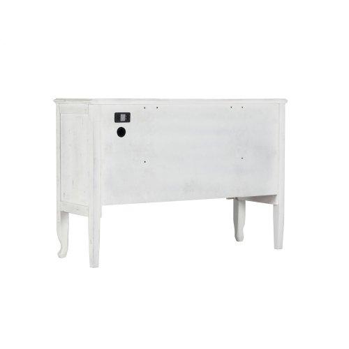 Emerald Home B312-00 Bordeaux Dressing Table, Antique White