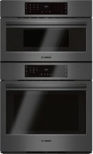 "30"" Combination Wall Oven with Speed Oven, HBL8742UC, Black Stainless Steel Product Image"