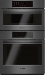 """800 Series 30"""" Combination Wall Oven with Speed Oven, , Black Stainless Steel"""