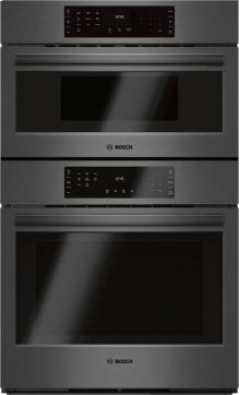 """800 Series 30"""" Combination Wall Oven with Speed Oven, HBL8742UC, Black Stainless Steel"""