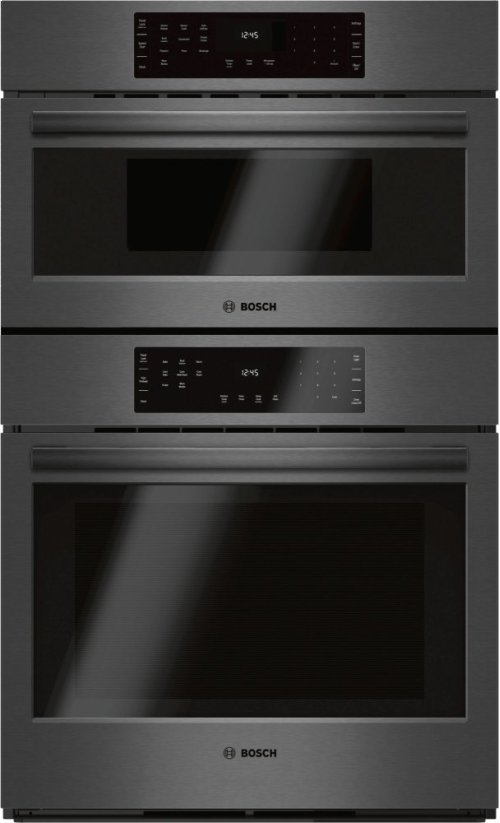 "800 Series 30"" Combination Wall Oven with Speed Oven, HBL8742UC, Black Stainless Steel"