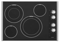 30-inch Wide Electric Cooktop With Two Dual-choice(tm) Elements