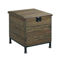 Hidden Treasures Milling Chest End Table Product Image