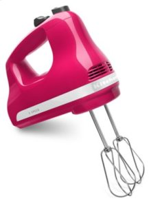 5-Speed Ultra Power™ Hand Mixer - Cranberry