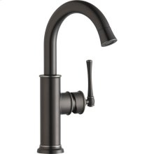 Elkay Explore Single Hole Bar Faucet with Forward Only Lever Handle Antique Steel