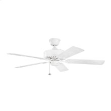 Renew Patio Collection 52 Inch Renew Patio Ceiling Fan WH