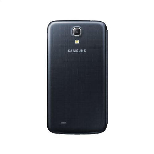 Galaxy Mega S-View Flip Cover, Black