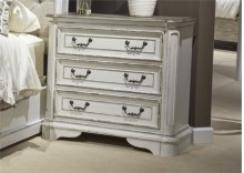 3 Drawer Bedside Chest