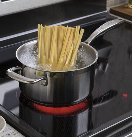 """GE® 30"""" Free-Standing Electric Convection Range"""