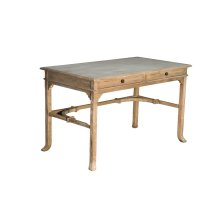 Desk, Available in Aged White Finish Only.