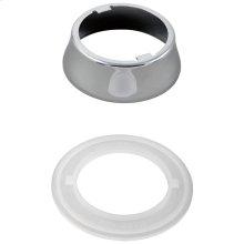 Chrome Escutcheon & Gasket - Pull-Out