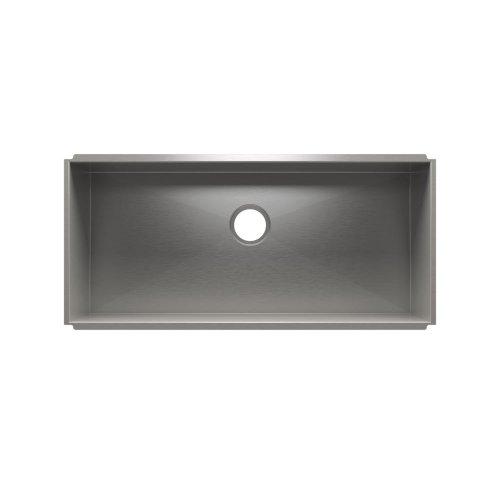 """UrbanEdge® 003695 - undermount stainless steel Kitchen sink , 36"""" × 16"""" × 10"""""""