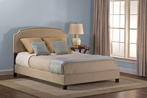 Lani Queen Bed - Linen Beige