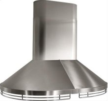 "48"" Stainless Steel Island Hood with Internal and External Blower Options"