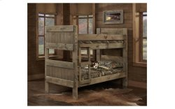 Mossy Oak Twin over Twin Panel Bunk Bed