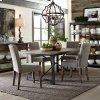 Liberty Furniture Industries 5 Piece Rectangular Table Set