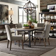 5 Piece Rectangular Table Set