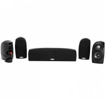 Compact home theater audio system. in Black