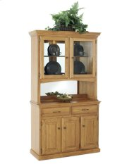 Hutch w/ 2 Half Doors Product Image