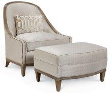 Cityscapes Cooper Slipper Chair Ottoman - Diamond