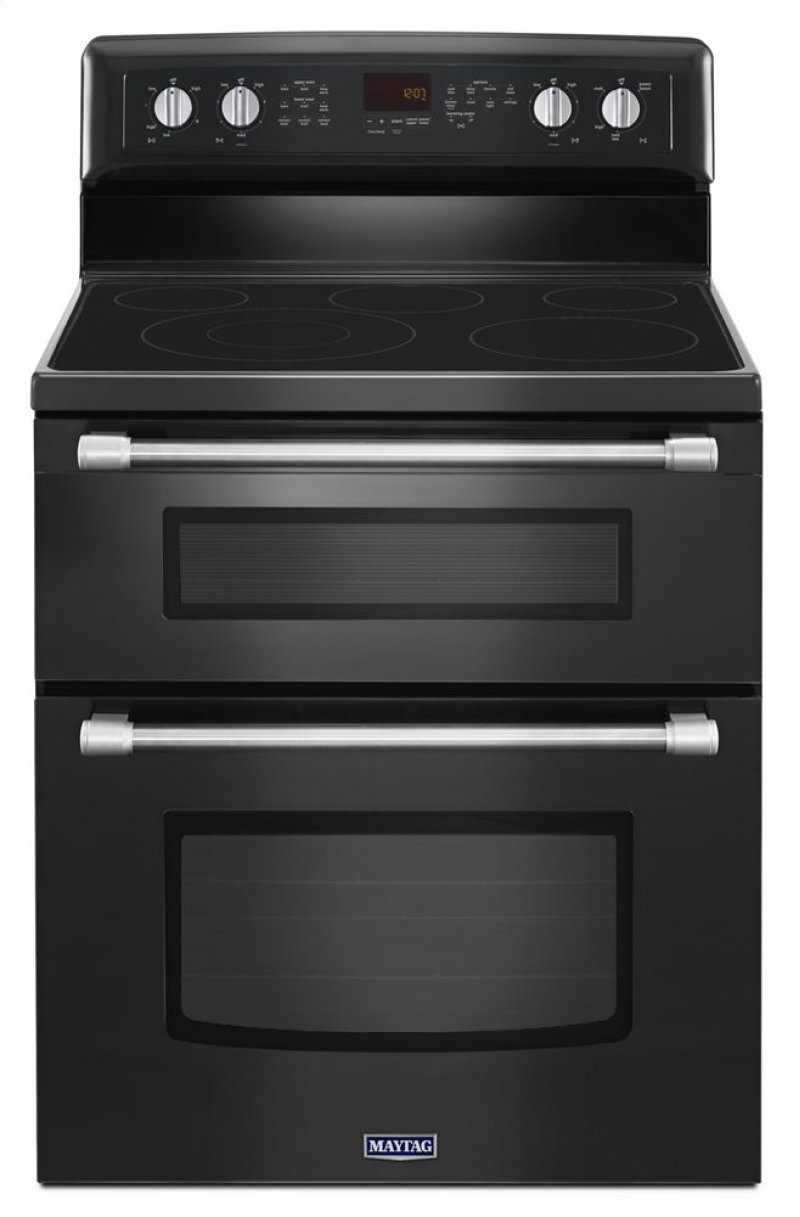 30 Inch Wide Double Oven Electric Range With Element 6 7 Cu Ft