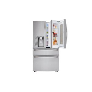 30 cu. ft. Smart wi-fi Enabled InstaView Door-in-Door® Refrigerator - STAINLESS STEEL