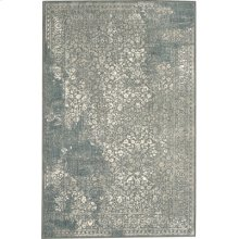 Ayr Willow Grey Rectangle 3ft 6in X 5ft 6in