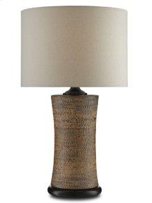 Malabar Table Lamp - 26.75h