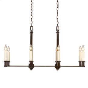 Smithsonian Bradley Linear Pendant in Cordoban Bronze