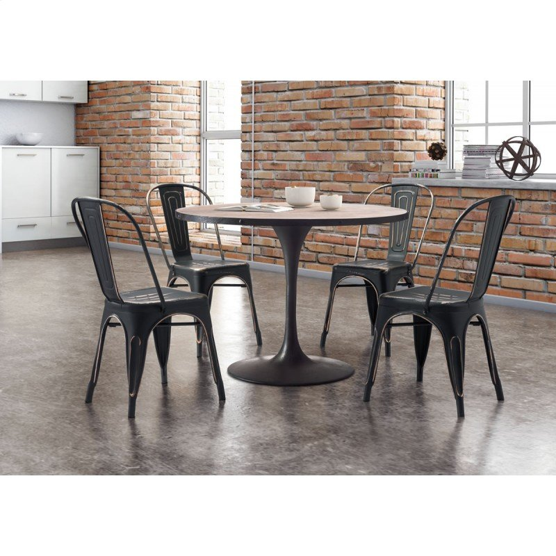 Scotts Bluff Dining Table Distressed Natural