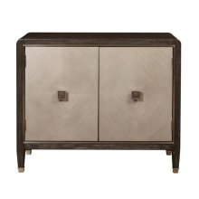 Modern Oak & Primavera Two Door Chest