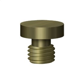 Button Tip - Antique Brass