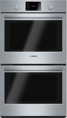 "500 Series, 30"", Double Wall Oven, SS, Thermal/Thermal, Knob Control"