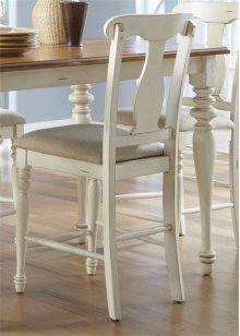 Uph Splat Back Counter Chair (RTA)