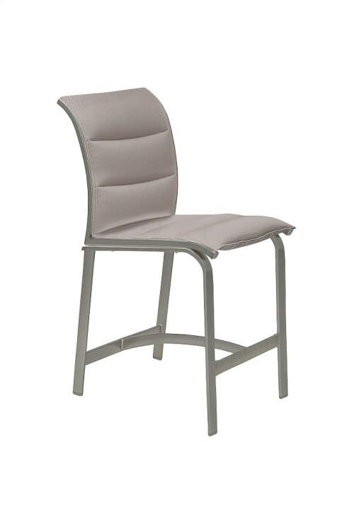 Elance Padded Sling Armless Counter Height Stool