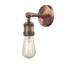 202-AC - BARE BULB WALL SCONCE
