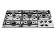 "Heritage 36"" Professional Gas Cooktop, Liquid Propane"